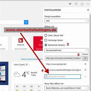 Msn Als Startseite : anleitung startseite im microsoft edge browser festlegen ~ Orissabook.com Haus und Dekorationen