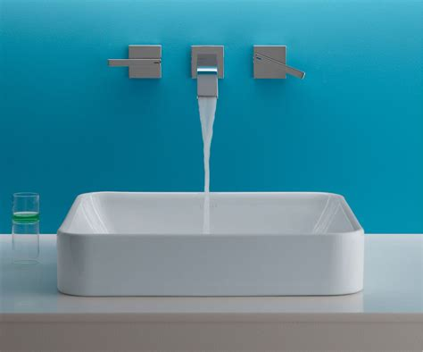 Modern Above Counter Bathroom Sinks by The Bold Look Of Bathroom Sinks Modern Bathroom Sink