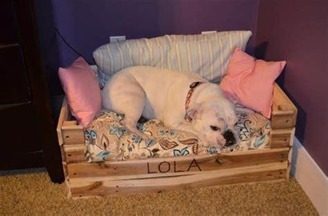 pallet dog beds pallets designs