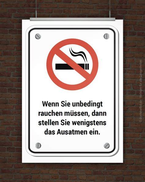 drucke selbst rauchen verboten schild zum ausdrucken