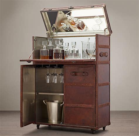Restoration Hardware Bar Cabinet by Mayfair Bar Cart Vintage Cigar