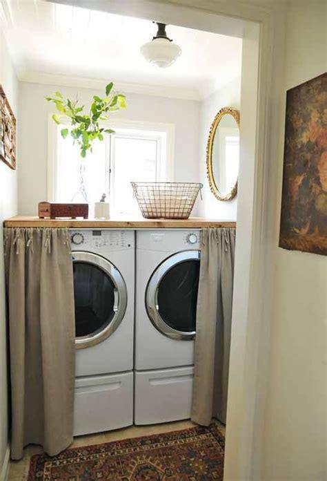 stylish  hidden laundry room designs homemydesign