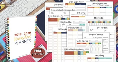 homeschool planner blessed learners