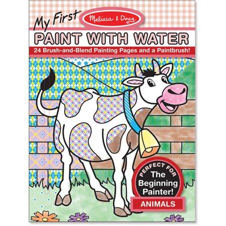 melissa doug   paint  water coloring book