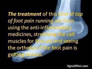 Top Of Foot Pain Running