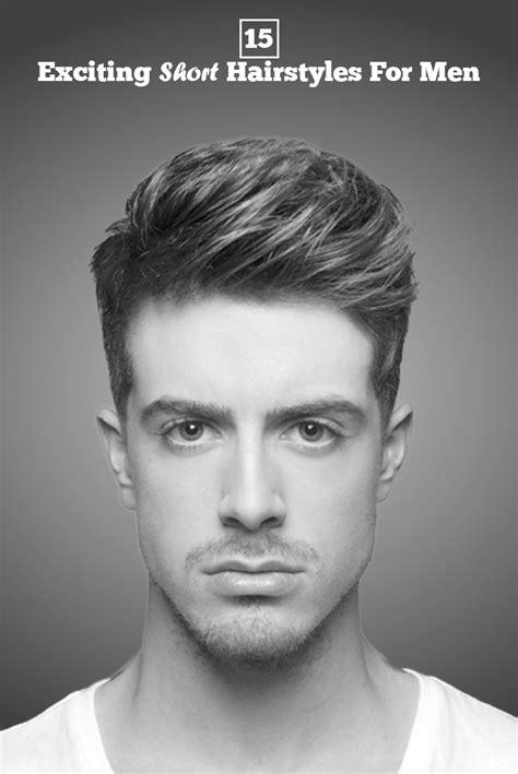 15 popular short hairstyles for men will surely make your