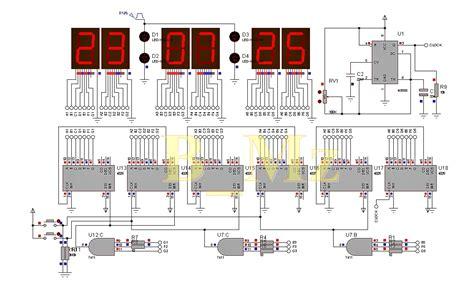 jam digital 7 segment tanpa rtc ds1307 apktodownload