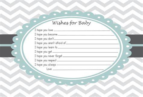baby shower advice card wishes   baby  rockstarpress