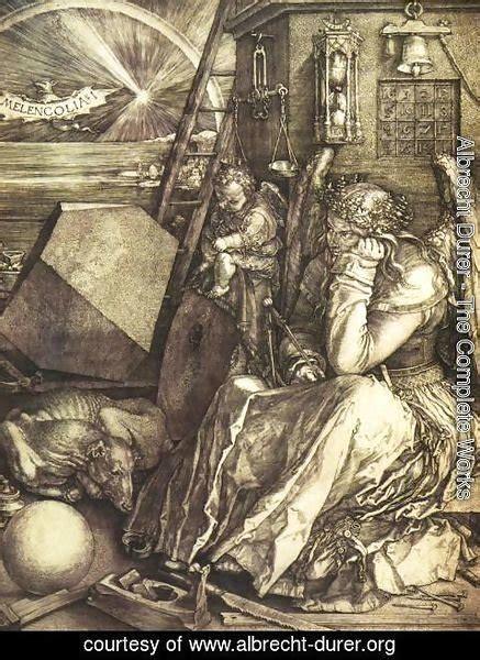 Ee  Albrecht Durer The Complete Works Melancholy I Ee