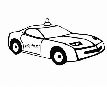 Police Coloring Pages Special Colouring Cars Response