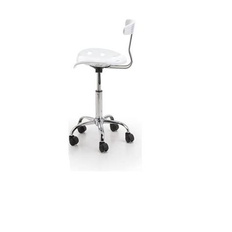 chaise de bureau blanc fauteuil de bureau enfant catania coloris blanc achat