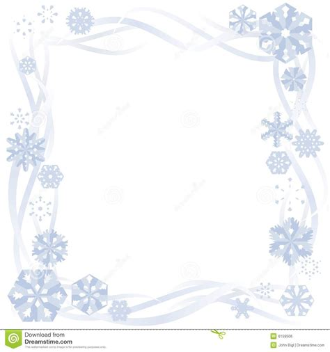 Border Snowflake Background Clipart by Snowflake Border Clipart Free Clipground