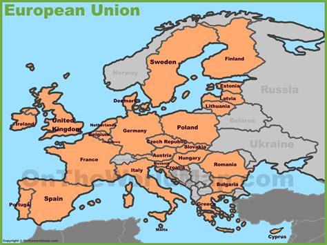 europe countries map swoiceme