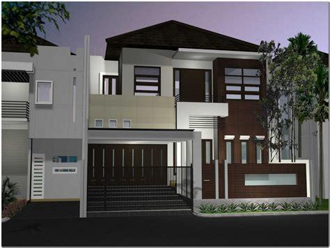 desain rumah mewah minimalis modern  lantai