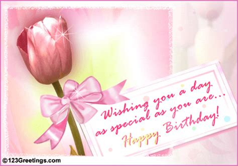 a special birthday message free birthday wishes ecards greeting cards 123 greetings