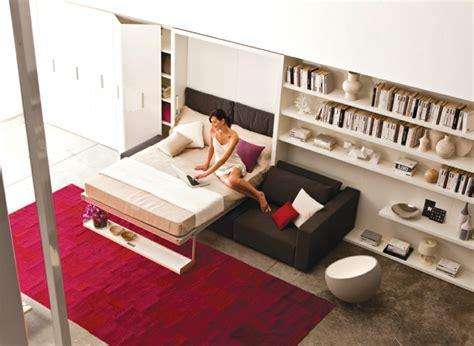 canapé lit mural les canapés convertibles designs intelligents de canapés