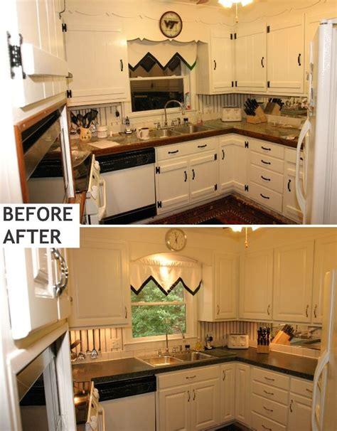 pin  jennifer brock  kitchen cabinet resurfacing