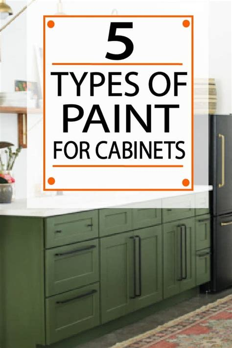 type of paint for kitchen cabinets painted furniture ideas the 5 best types of paint for