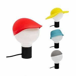 Chapeau De Lampe : funky lampe de bureau avec chapeaux en silicone habitat ~ Melissatoandfro.com Idées de Décoration