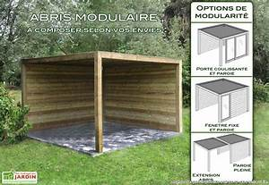 abri de jardin bois exterior 300x300x230 gardival With abri de jardin fait soi meme