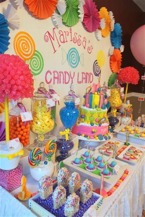 Southern Blue Celebrations Candy  Sweet Shop Party Ideas
