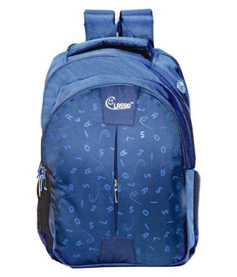 CLASSIO BAGS Blue School Bag 38 Ltr for Boys & Girls: Buy ...
