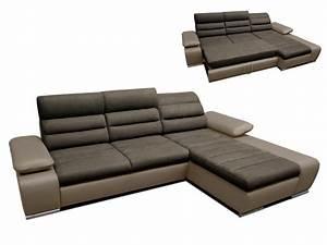 canape angle droit achat en ligne With canapé d angle panoramique convertible en tissu et simili boileau
