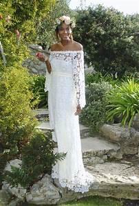 crochet wedding dress for the boho bride dreamers and lovers With boho hippie wedding dress