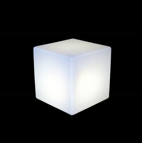 Light A by Cube Lit Table By One Foot Taller Notonthehighstreet