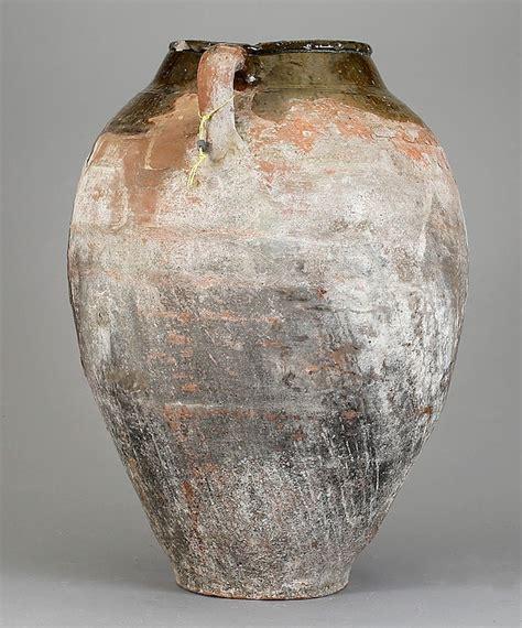 semi glazed pottery urn  sale  stdibs