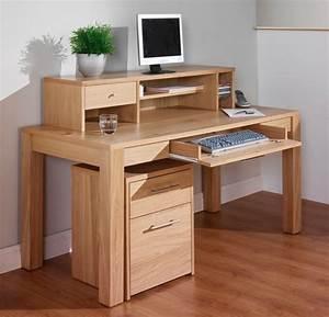 Bureau En Bois Massif : le bureau en bois massif est une classique qui ne se d mode pas ~ Teatrodelosmanantiales.com Idées de Décoration