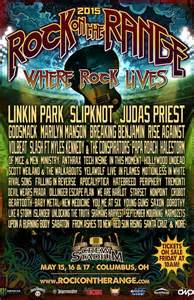 linkin park judas priest slipknot to headline 2015 rock on the range