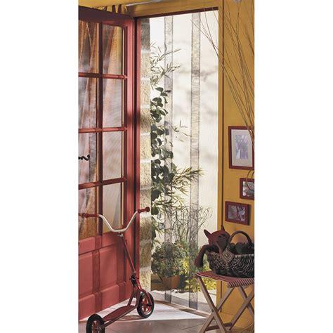 rideau moustiquaire porte fenetre moustiquaire pour porte rideau moustikit h 230 x l 130 cm
