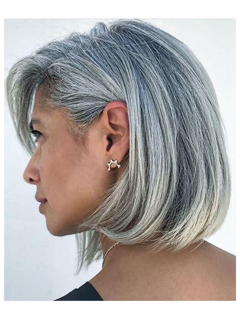 Wow Gorgeous Head Of Hair Silver Foxes Hair Cuts