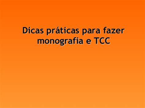 dicas para monografia tcc como formatar seu trabalho projeto tcc
