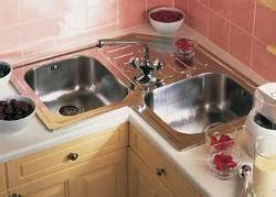 butterfly kitchen sink butterfly sink corner configuration gharexpert butterfly 1885