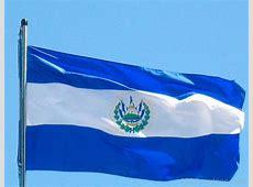 National Flag Of El Salvador 123Countriescom