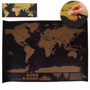 Carte Du Monde à Gratter Maison Du Monde : carte du monde gratter les bons plans de micromonde ~ Teatrodelosmanantiales.com Idées de Décoration