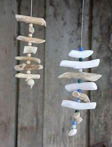 Windspiele Aus Holz : maritimes windspiel einfach selbermachen anleitung auf deko basteln ~ Buech-reservation.com Haus und Dekorationen