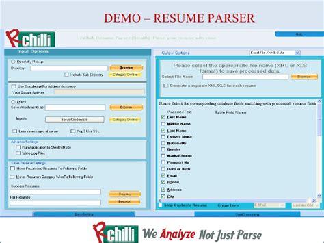 resume parsing software resume ideas