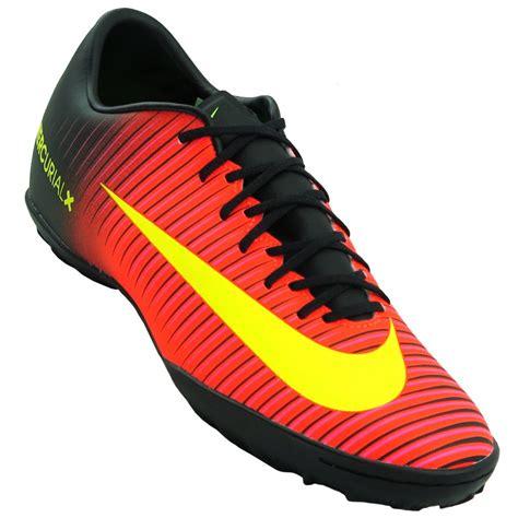 tennis shoes for chuteira nike mercurial victory vi tf laranja com preto