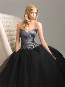 A variety of dresses Black prom dress ball gown
