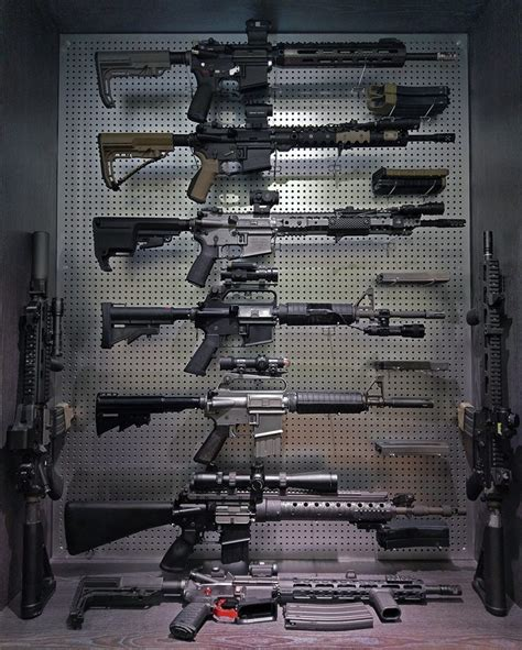 rifle display rack potd diy gun rack display the firearm blogthe firearm