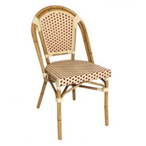 chaises de bistrot en rotin chaise bistrot rotin
