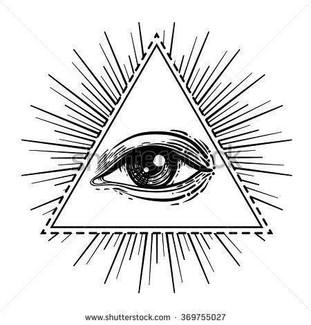 Illuminati Triangle Eye Top 25 Best Triangle Eye Ideas On All Seeing