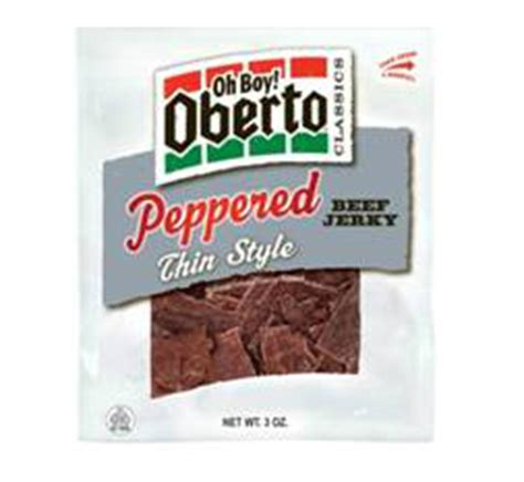 Oberto Meat Snacks - Inderbitzin