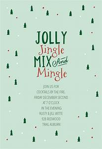 Cocktail Invites Gifted Christmas Invitation Template Free Greetings