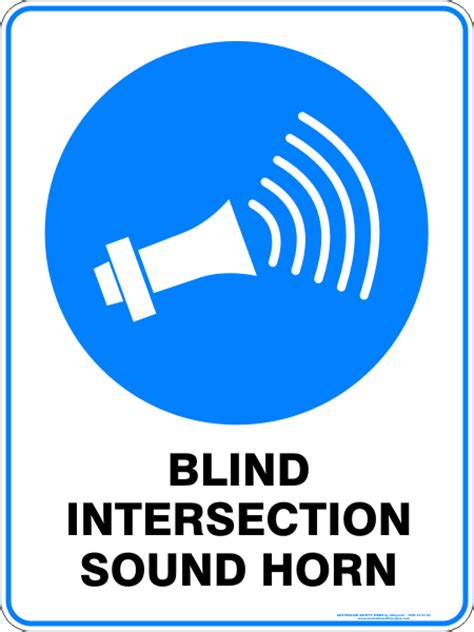 Blind Intersection Sound Horn  Discount Safety Signs New. Thanksgiving Banners. Unc Fan Signs. Stair Decals. Camphor Signs. Street Furniture Signs. Baby 10 Months Old Signs. Ww2 Decals. Board Signs