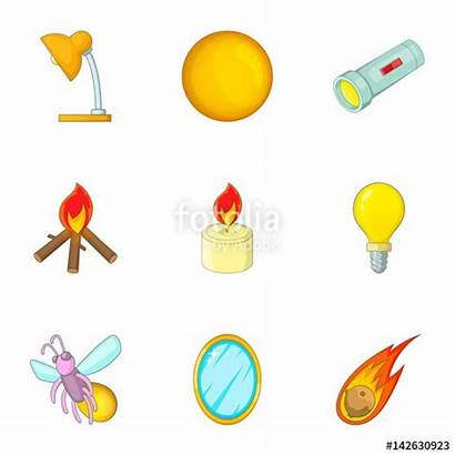 Luminous Clipart Objects Object Flashlight Glowing Icons