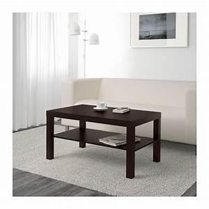 Table Basse Salon Ikea : lack table basse brun noir ikea ~ Teatrodelosmanantiales.com Idées de Décoration